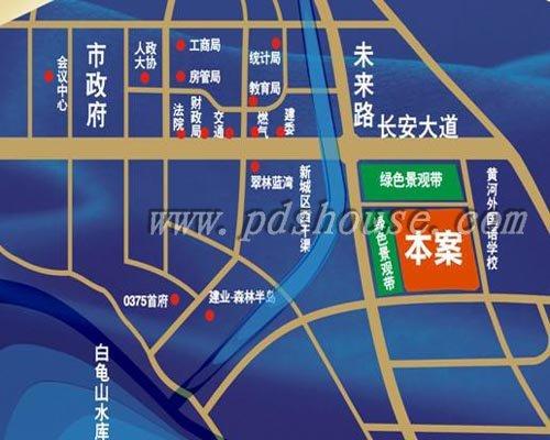 蓝湾新城 平顶山蓝湾新城 平顶山房产网 平顶山 高清图片