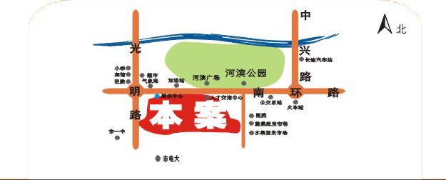 程北佳园电子地图