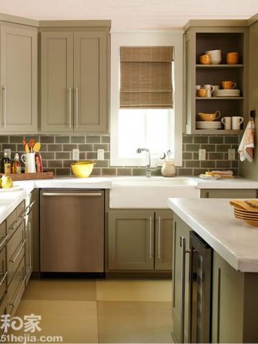 放大空间 8个小户型厨房设计
