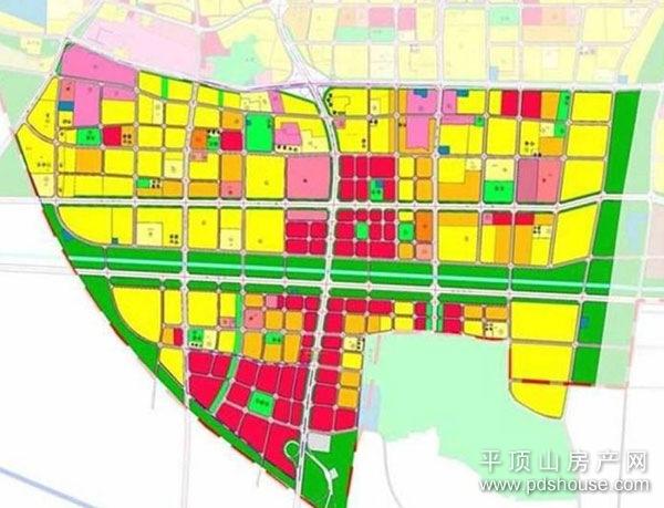 平顶山市区道路地图