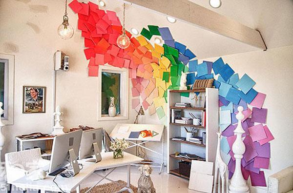 挑逗视觉神经 11个创意背景墙设计