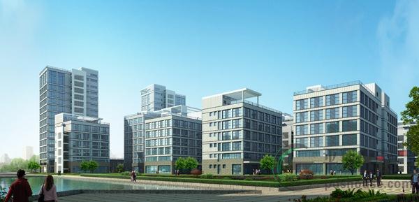 平顶山科技总部新城 中原总部经济集聚之城高清图片