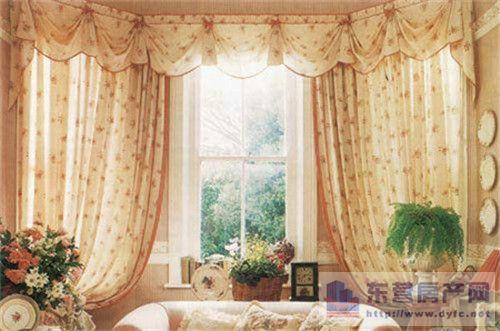 欧式风,法式风,英伦风客厅窗帘什么颜色好   高贵典雅是它们的共性