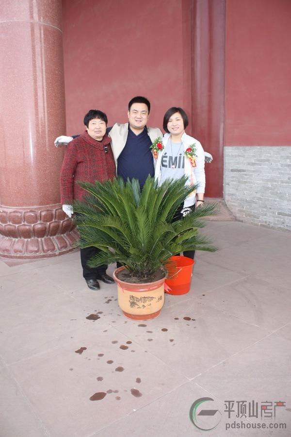东方今典总部新城 企业家香山寺植树活动 圆满举办 高清图片
