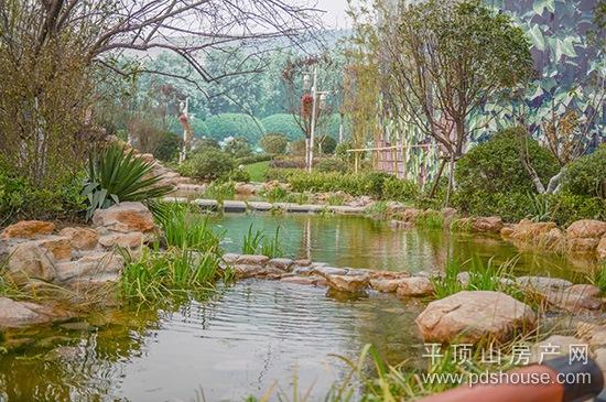 园林景观   九龙广场欧式皇家园林景观