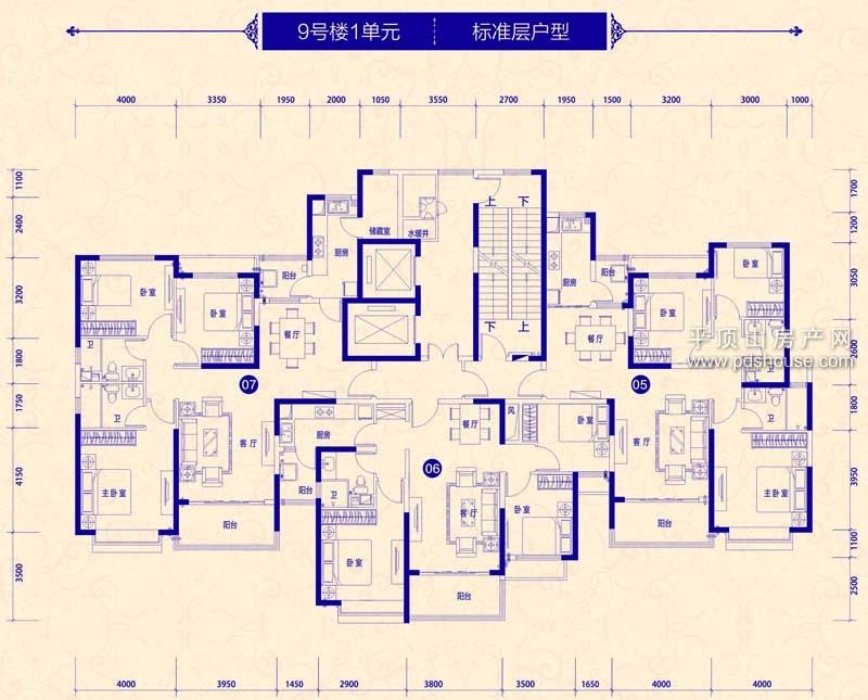 建业·森林半岛(宝丰)-户型鉴赏-平顶山房产网-平顶山